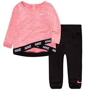 Nike Dri-Fit Top and Leggings 2T